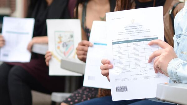 Excellent action doubtless over Leaving Cert calculated grades as many college students 'bitterly upset'