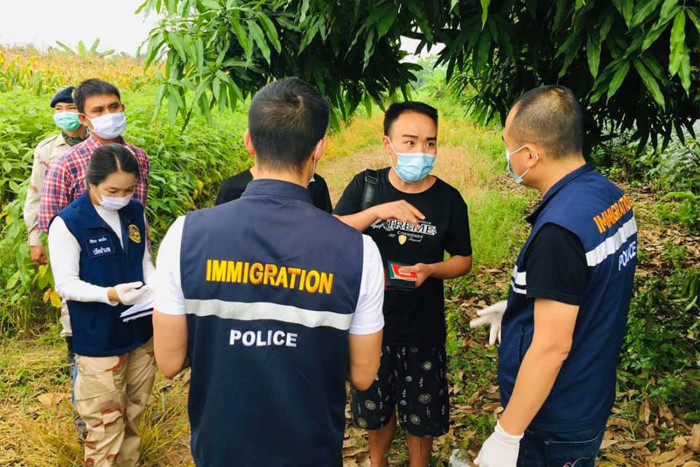 Chinese language arrested for illegal entry in North