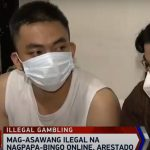 Couple in QC nabbed for retaining illegal online bingo