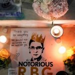 Chinese feminists and acceptable students pay tribute to 'inspirational' US Justice Ruth Bader Ginsburg