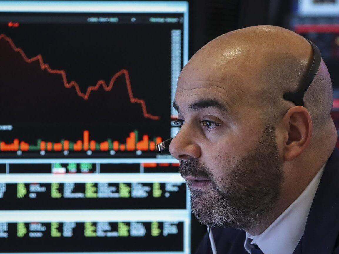 Dow Resumes Trip Over Anguish Economic Restoration Has Stalled