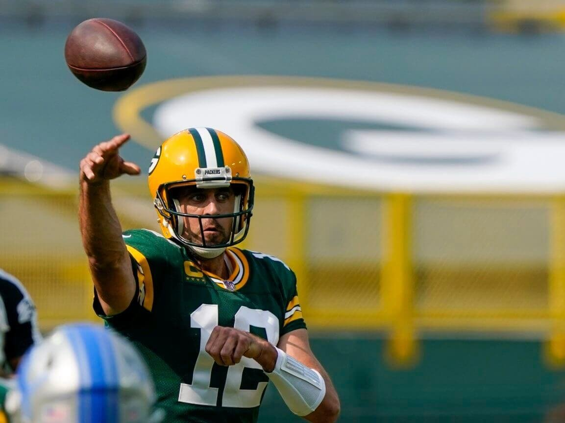 The Secret In the relief of Aaron Rodgers' Early Success This Season