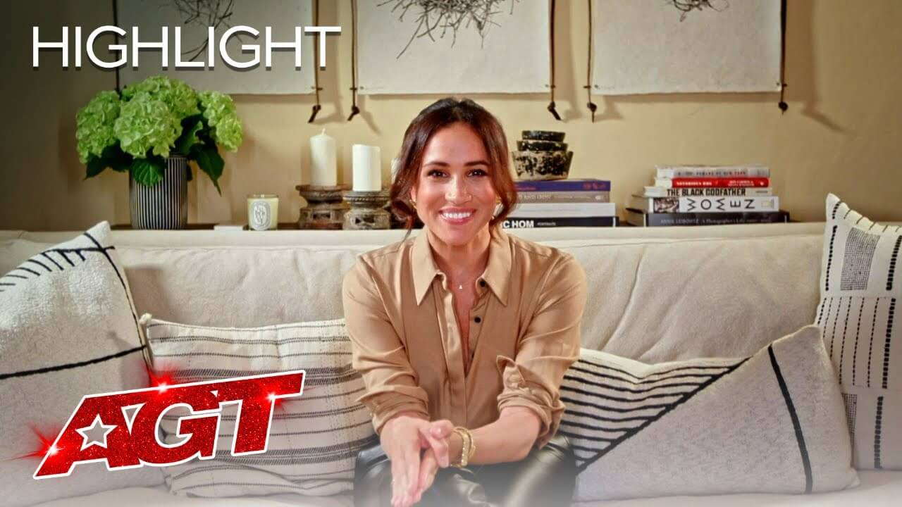 Meghan Markle Showed Love For An 'AGT' Contestant – And It Become once Comely