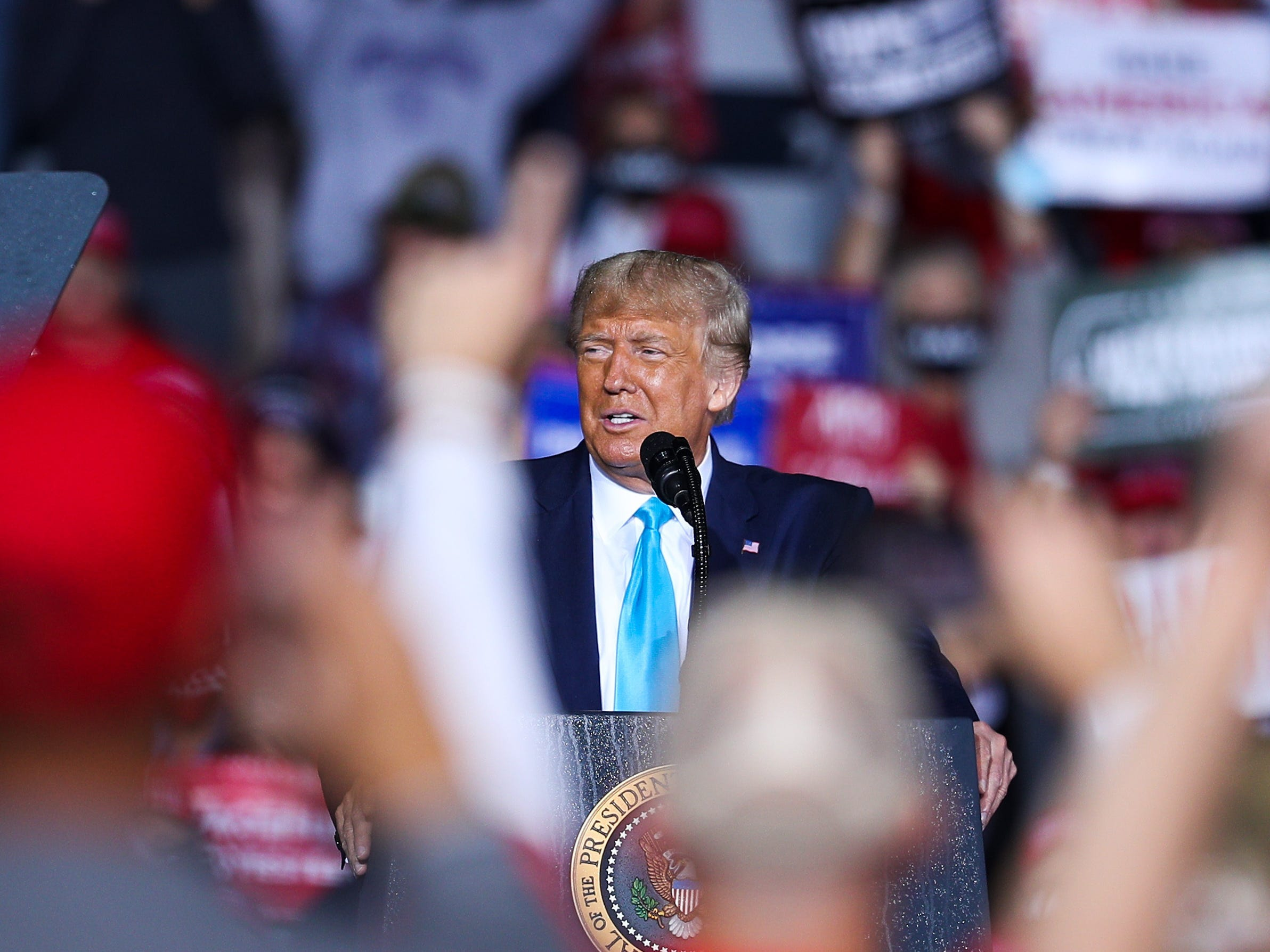 The Trump marketing campaign is waging an all-out moral battle to dwell the expansion of vote-by-mail in 7 diverse states