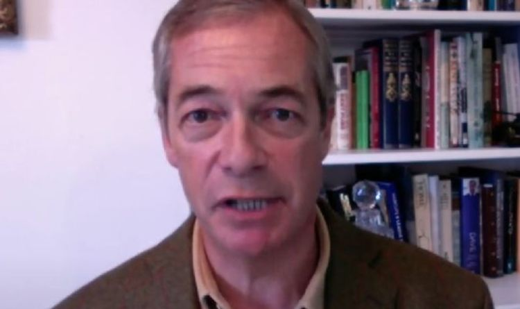 Nigel Farage speaks out after EU lawful slither