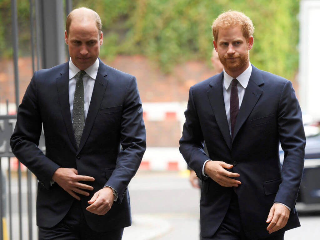 Did Prince William & Harry Of route 'Fall Out' Over Sandringham Summit?