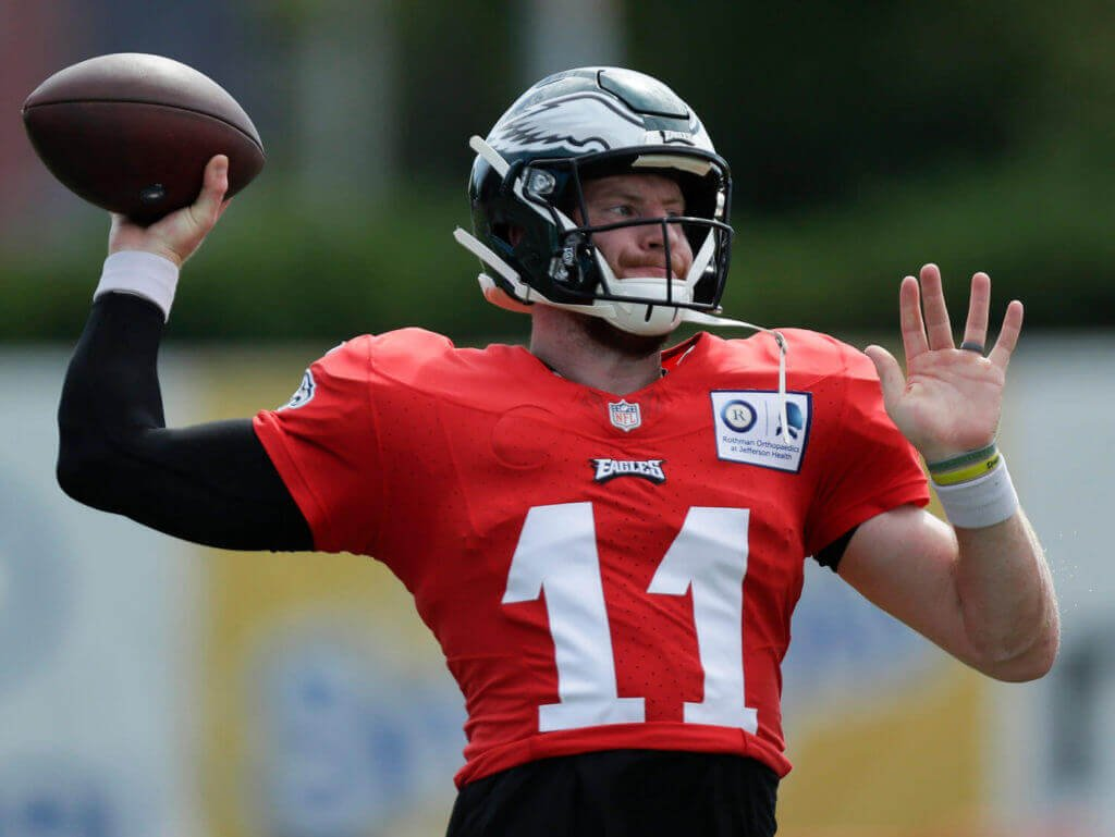 Carson Wentz Is Beginning to Resemble One other Talented Disappointment