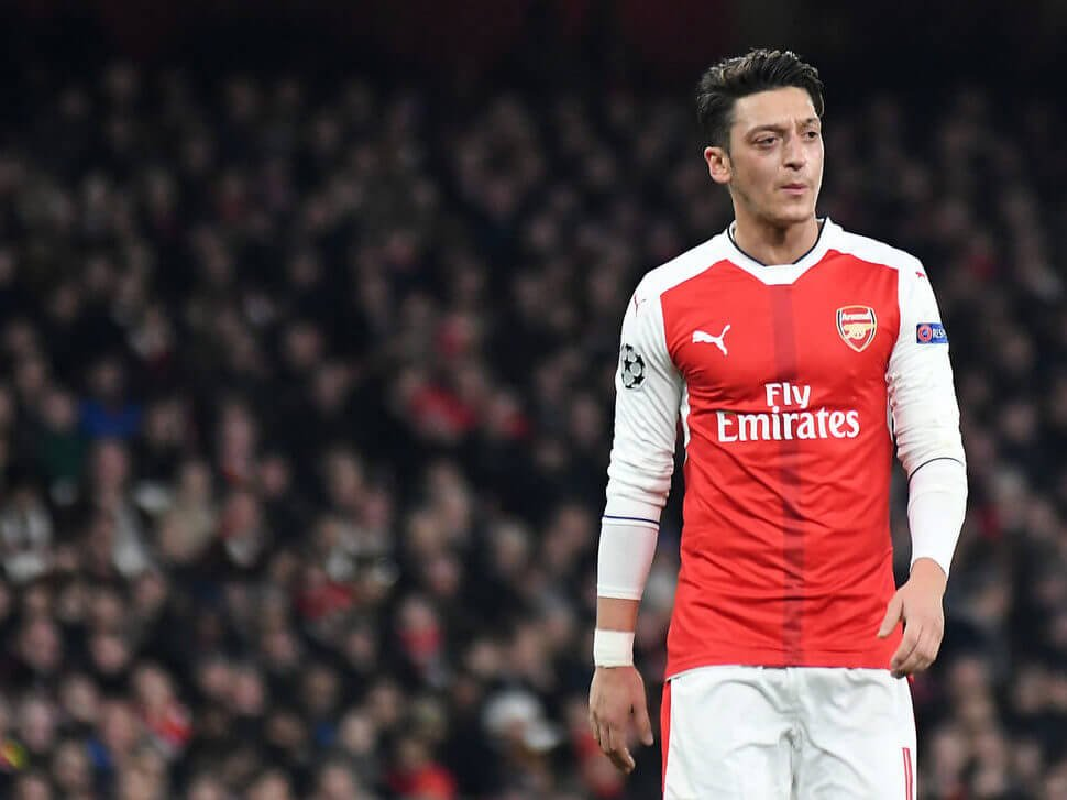 Mesut Ozil's Allure Advertising campaign Won't Resurrect Arsenal His Career