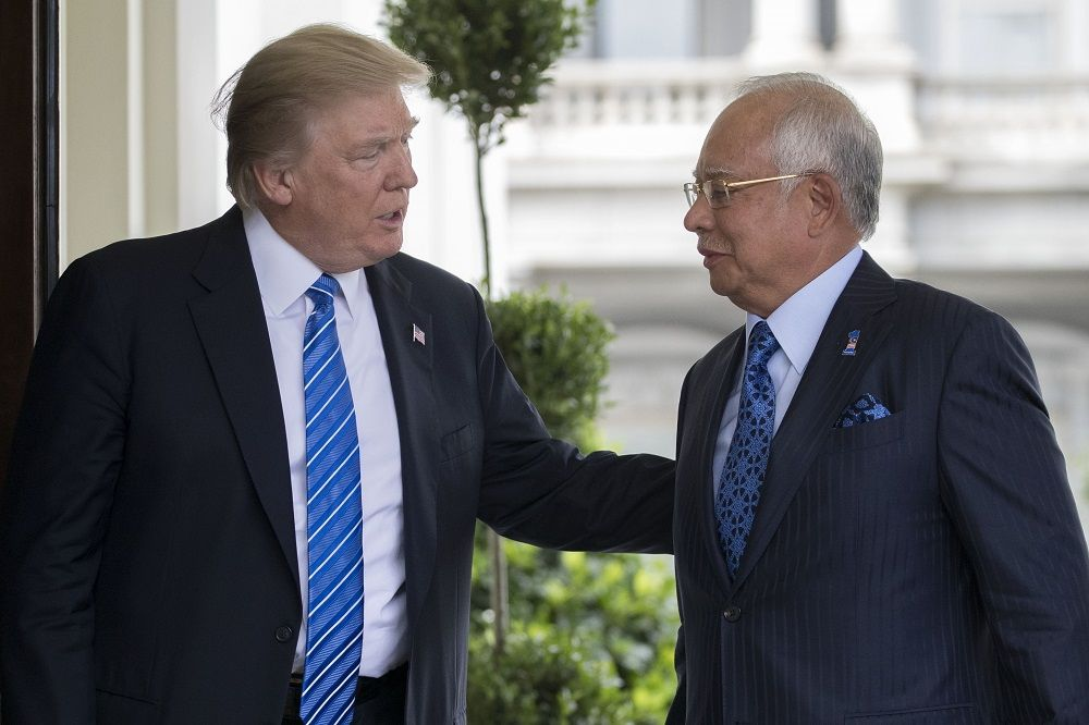 Ex-Trump fundraiser charged with illegal lobbying on 1MDB, China