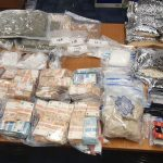 Huge seizure uncovers nearly €1.5m price of unlawful treatment, money and weapons