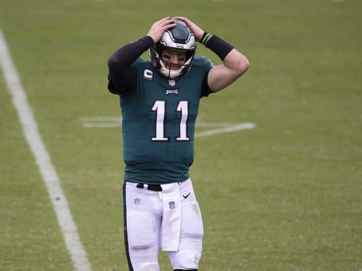 The Philadelphia Eagles Beget Failed Carson Wentz