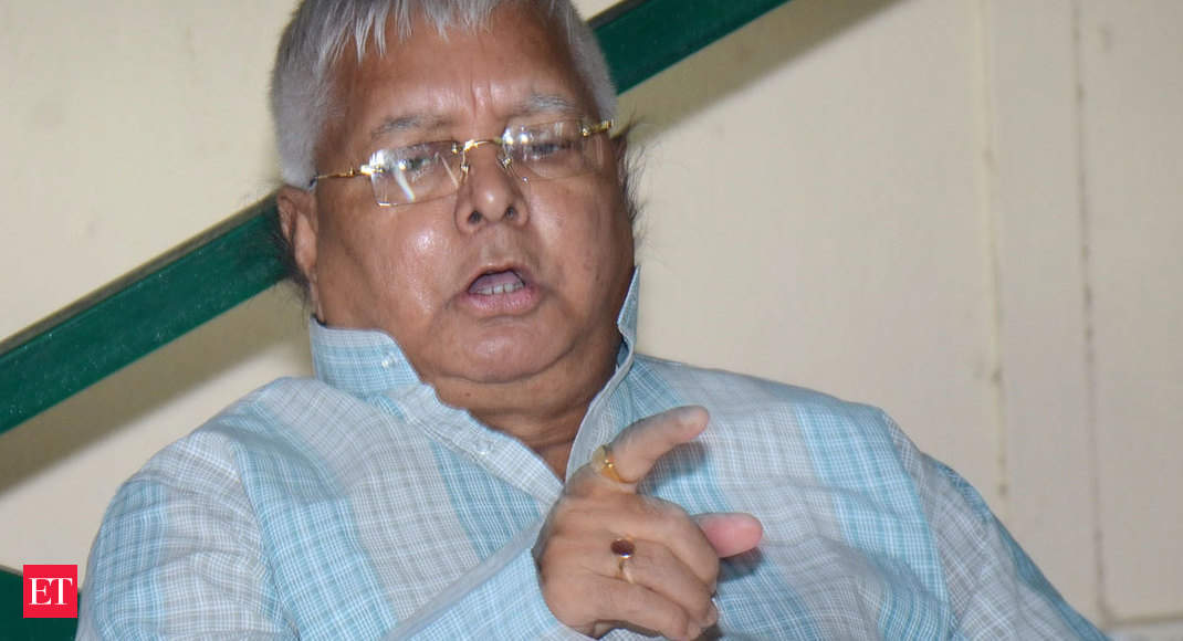 Lalu Prasad gets bail in a fodder scam case, but to live in detention heart