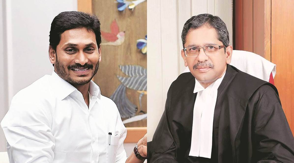 Jagan letter in opposition to SC judge comes as he faces rising moral heat