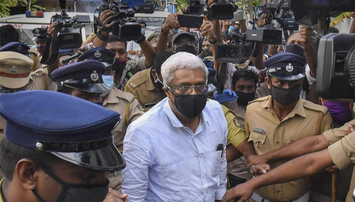 In gold rip-off case, ED summons Kerala CM Pinarayi Vijayan's broken-down aide M Shivashankar