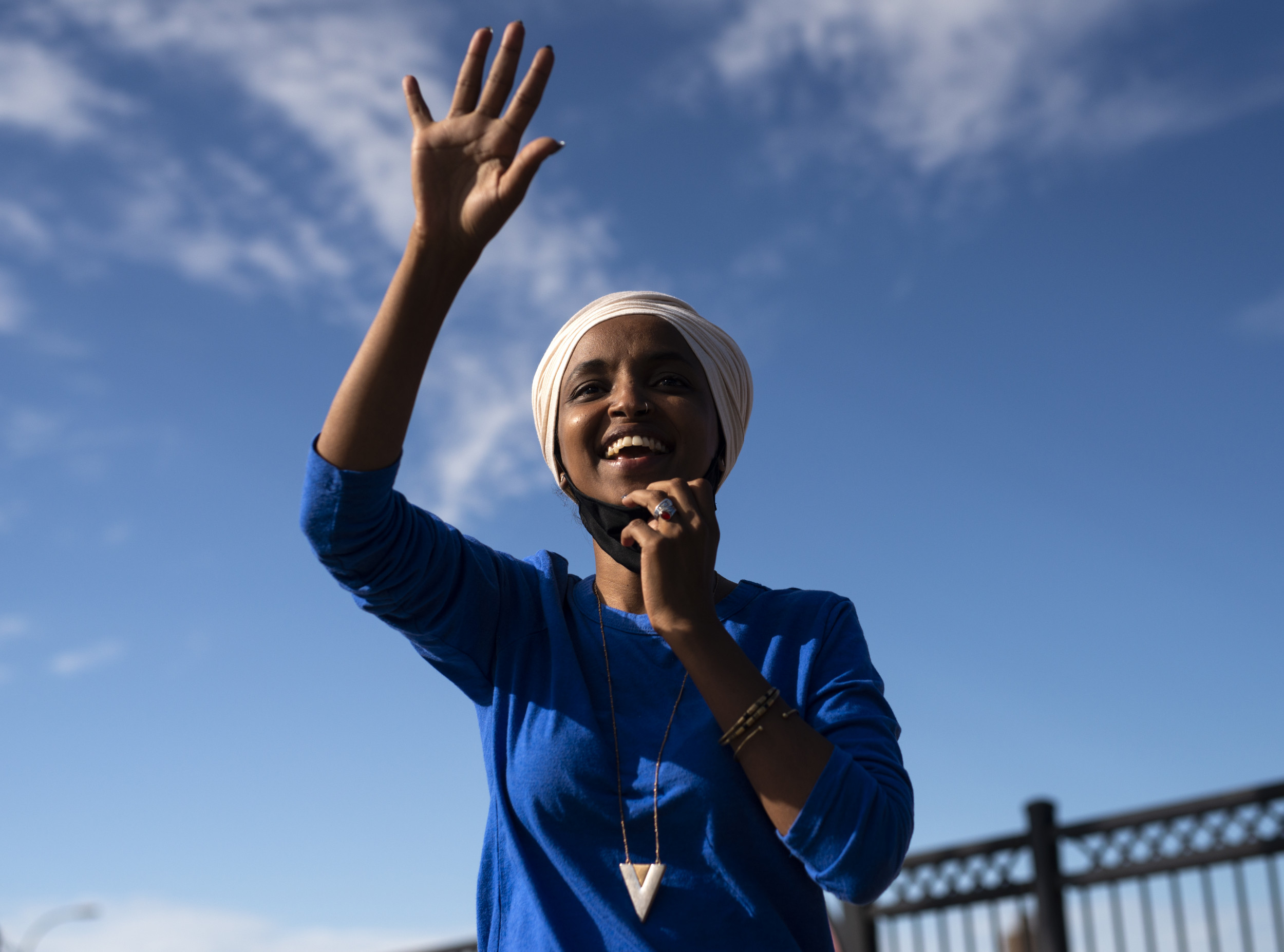 Donald Trump Accuses Ilhan Omar of Marrying Her Brother, Coming into The United States Illegally