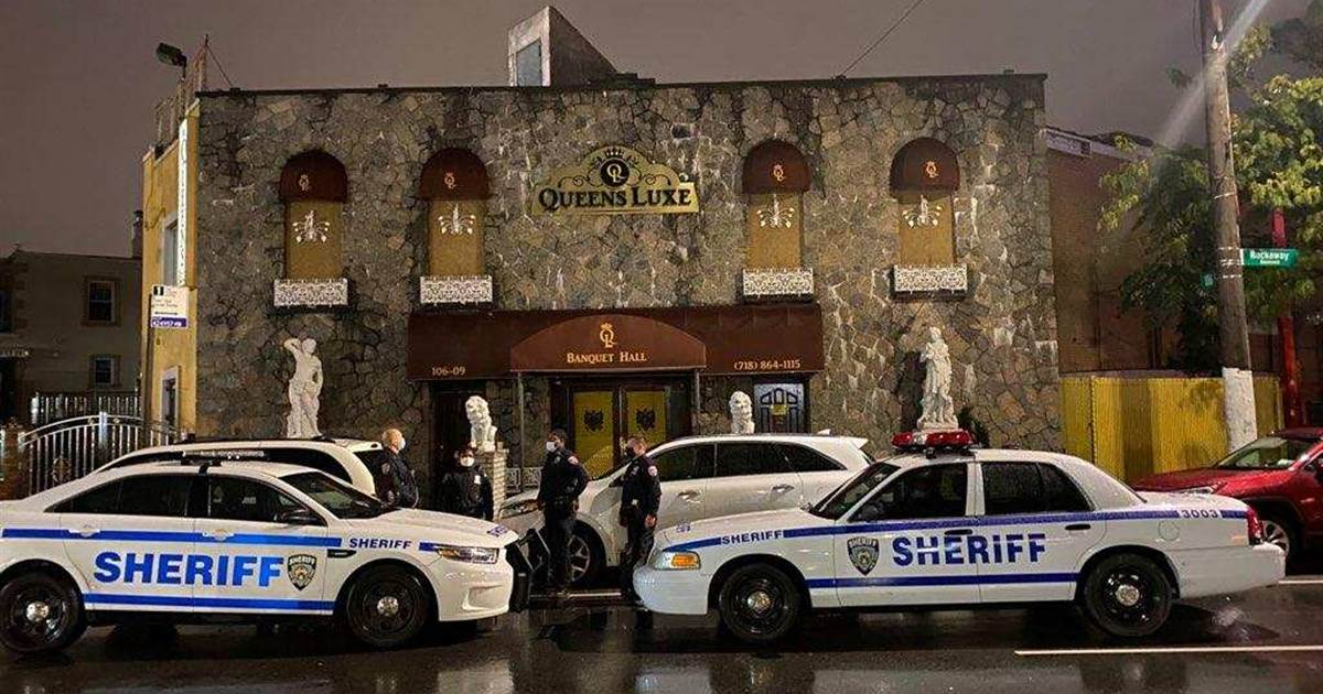 NYC sheriff busts unlawful celebration with more than 200 of us at Queens venue