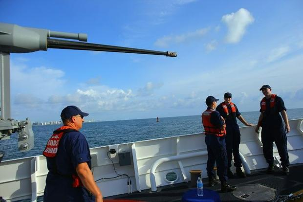 US Waft Guard to handle China 'illegal' fishing in Pacific
