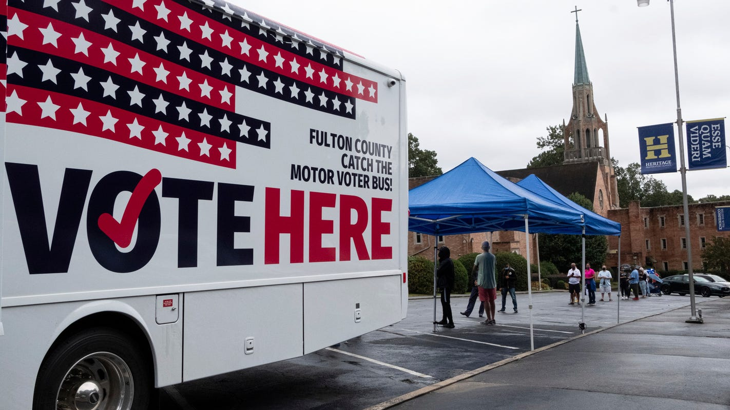 Balloting 2020 live updates: Recent Hampshire may perchance perchance no longer ban armed voters; Boston tumble field region on fire; hundreds of attorneys offer free ethical support