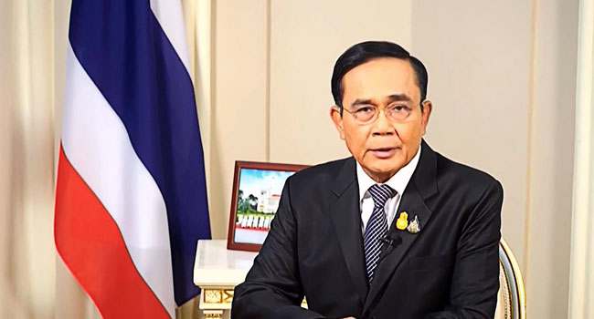 Thai PM Says 'Unlawful Protests' Must Be Controlled As Parliament Opens