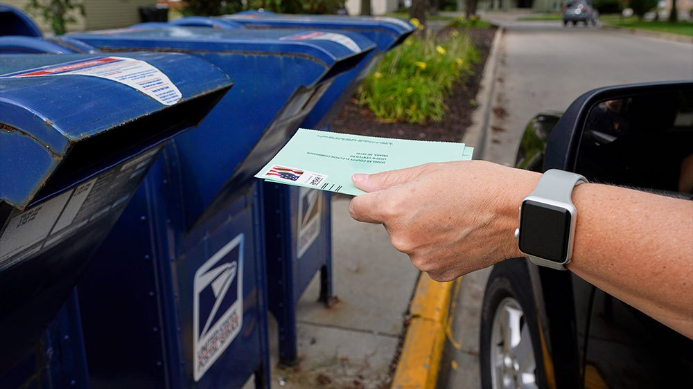 US polltransport delays are not unlawful, postal service argues