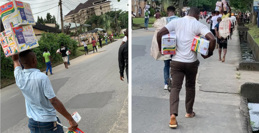 NBA, CDHR Supply Free Approved Illustration For Alleged Looters Arrested By Police