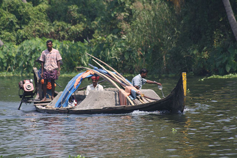 Tracking the Source of Illegal Sand Mining
