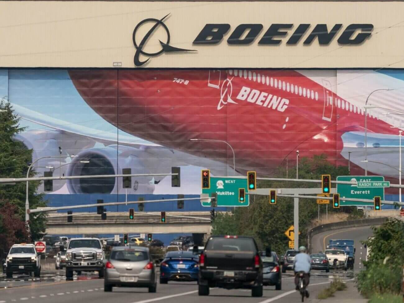 Boeing Is the Latest Firm to Crash out a Opposed Industry Ambiance