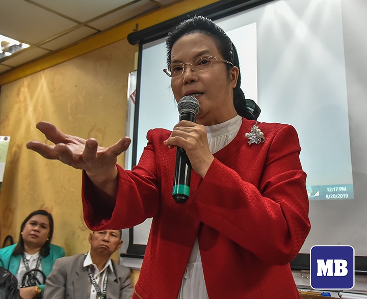 PAO chief warns public against scams the exhaust of her title