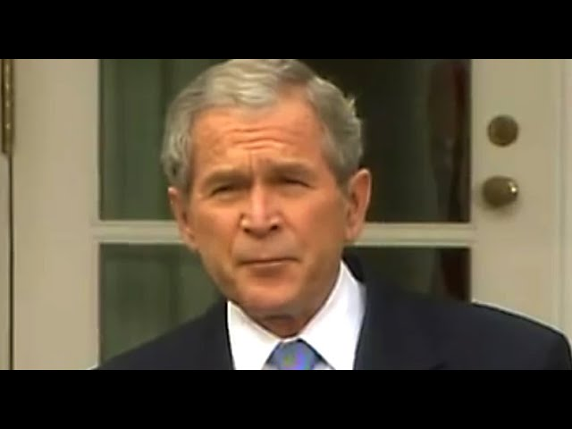 George W. Bush Displays Us Why the Appropriate Misplaced Faith in Trump