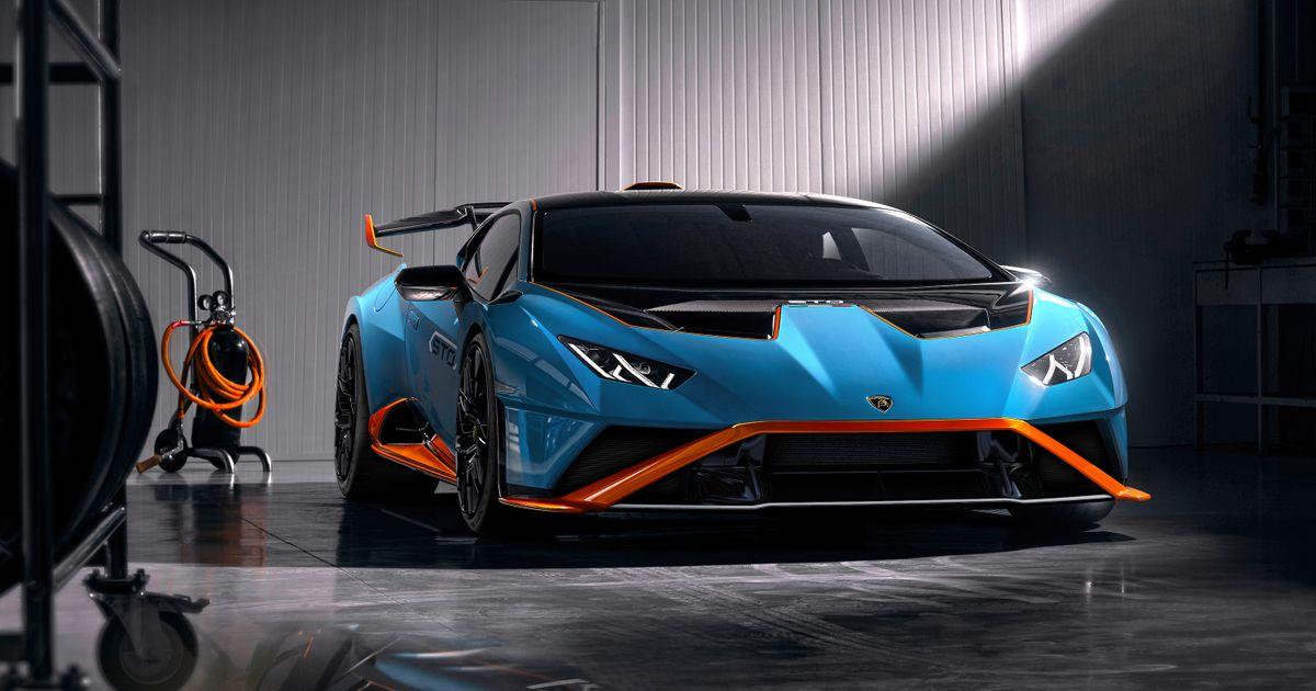 The RWD Lamborghini Huracan STO Is A Side road-Honest Track Automobile With GT3 Racing Affect