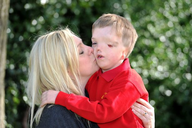 Mum's fury after scammer old model disabled son's picture for £1,000 attraction