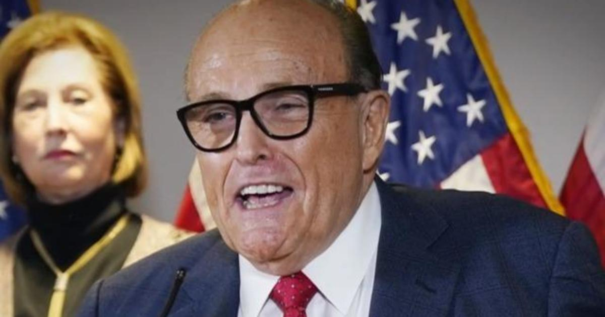 Rudy Giuliani and President Trump's magnificent group proceed to undermine the election