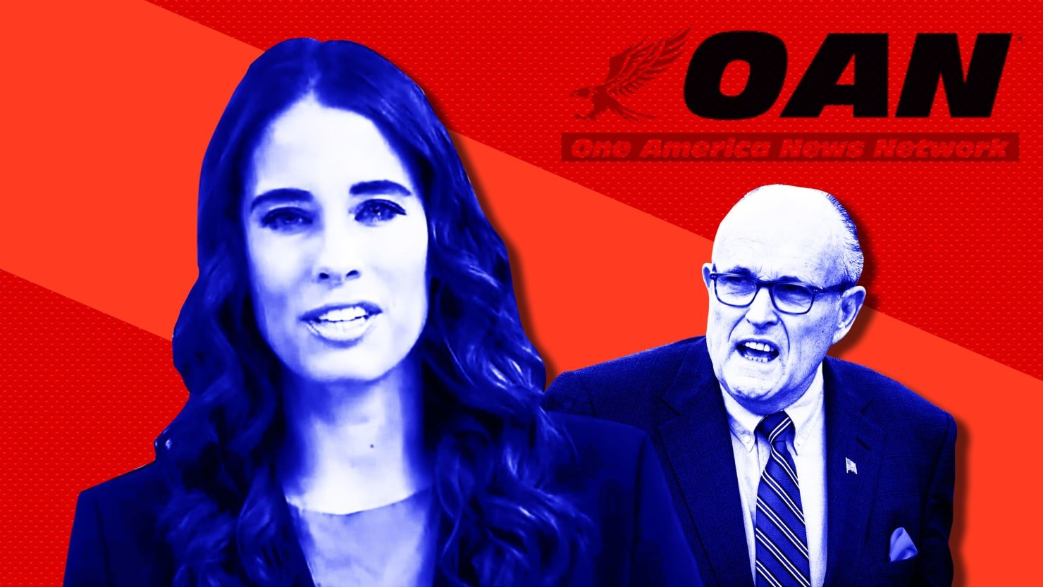 An OAN Host Has Been Serving to Rudy With Trump's Factual Efforts