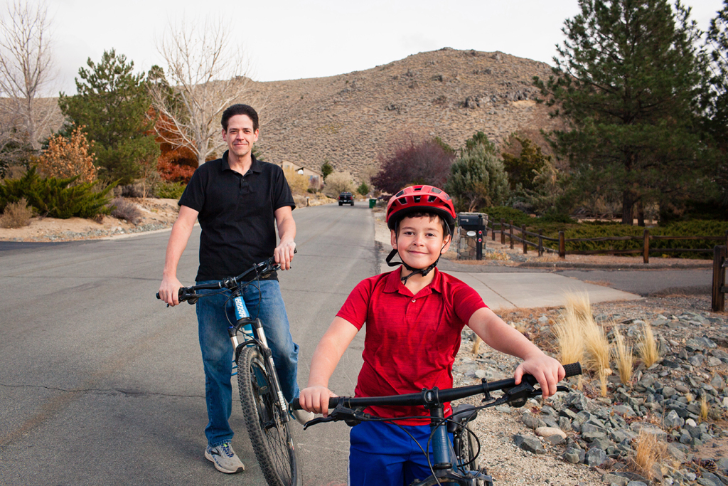 After Child's Minor Bike Accident, Most basic Bill Items Upright Wheels in Circulation