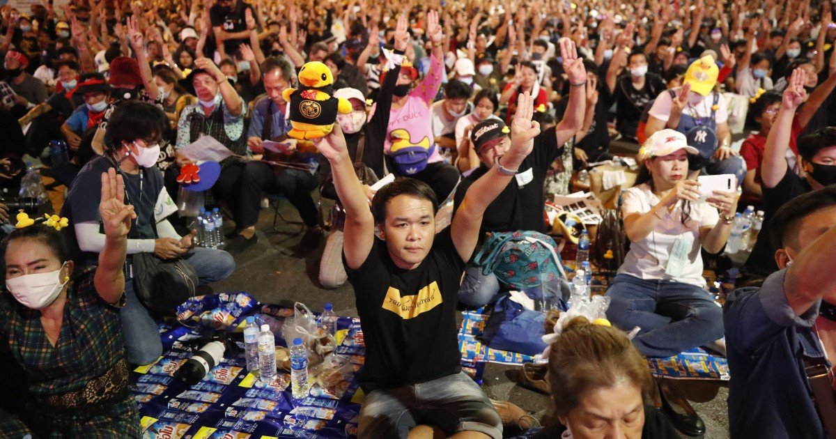 Thai PM wins an critical upright battle, angering protesters