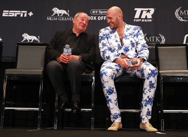 Bob Arum: Deontay Wilder has no accurate staunch to third Tyson Fury battle