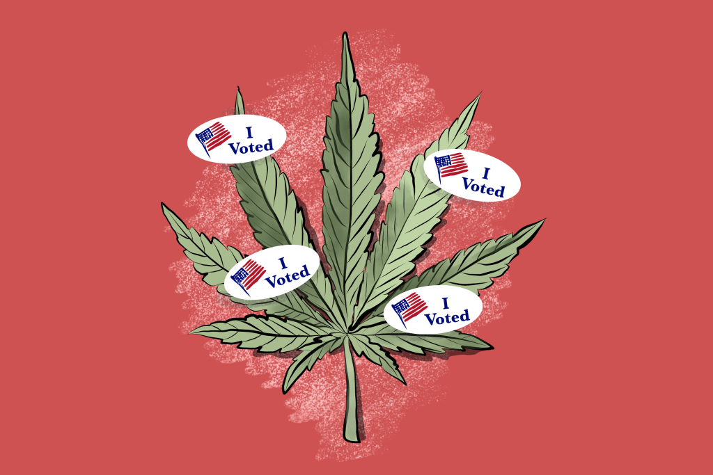 As More Red States Legalize Marijuana, Some Officials Strive to Nip It within the Bud