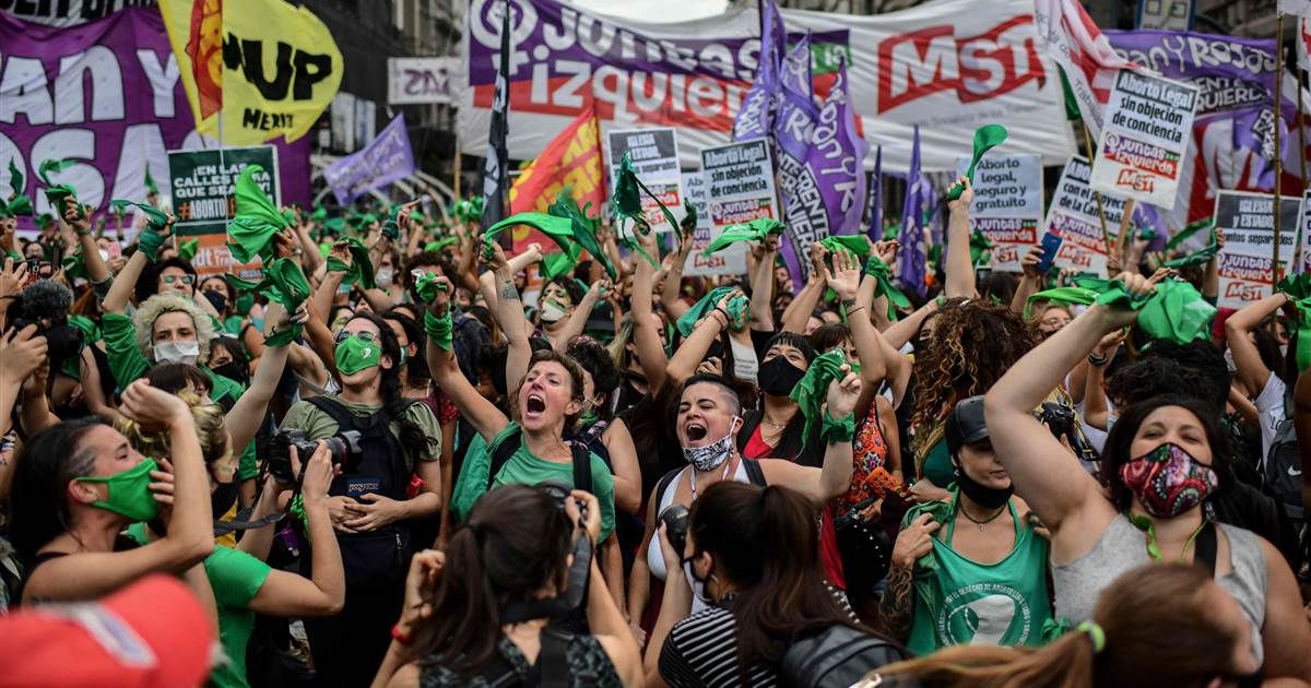 Argentina's lower residence passes invoice legalizing abortion