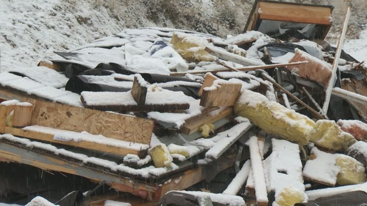 Unsafe construction area topic illegally dumped in north Kelowna neighbourhood: job power