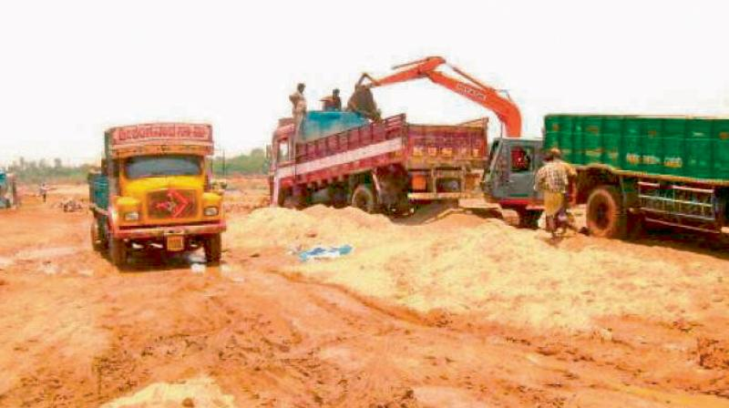 NGT directs Andhra Pradesh to act towards these involved about unlawful sand mining