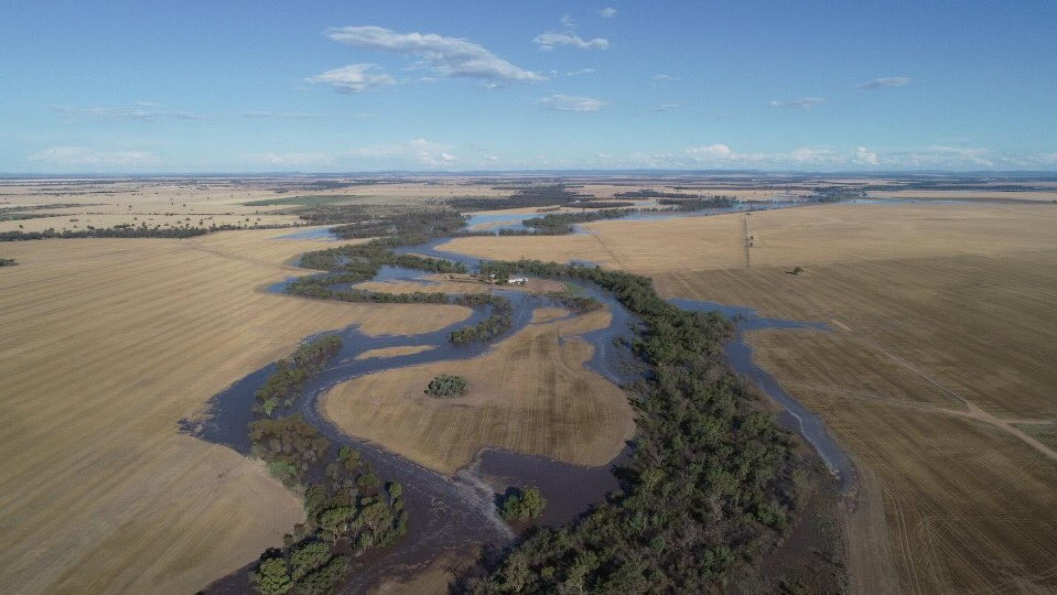 Floodwater coming, but irrigators would possibly per chance per chance furthermore merely no longer be in a position to harvest it legally
