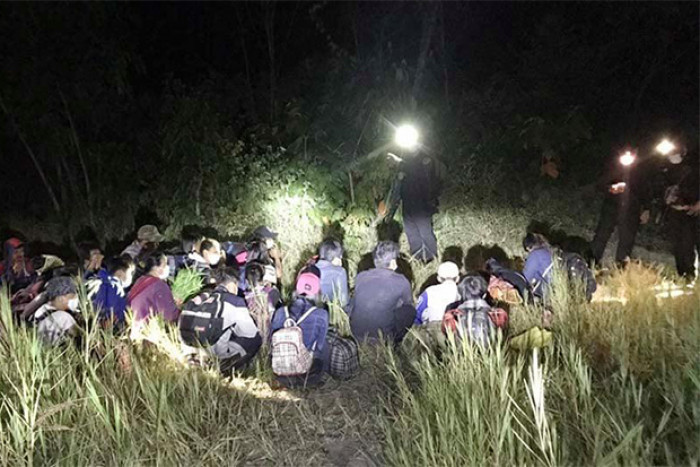 25 Myanmar migrants caught for unlawful entry