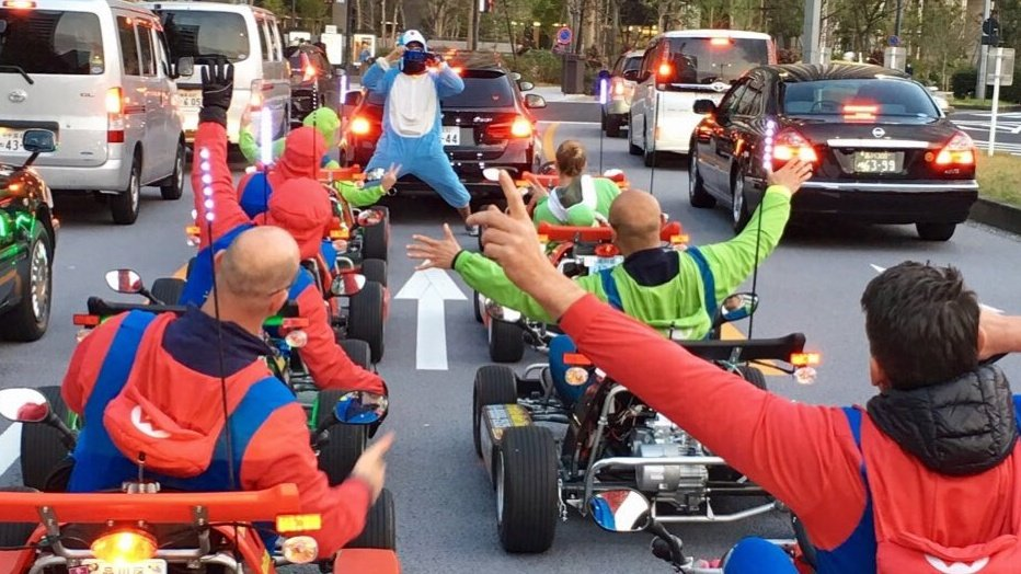 Tokyo's Unofficial Mario Kart Carrier Loses Supreme Court Appeal