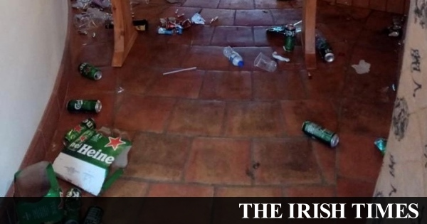 Group who 'destroyed' Laois home all the contrivance thru illegal rave idea Dublin contemporary one year's eve match