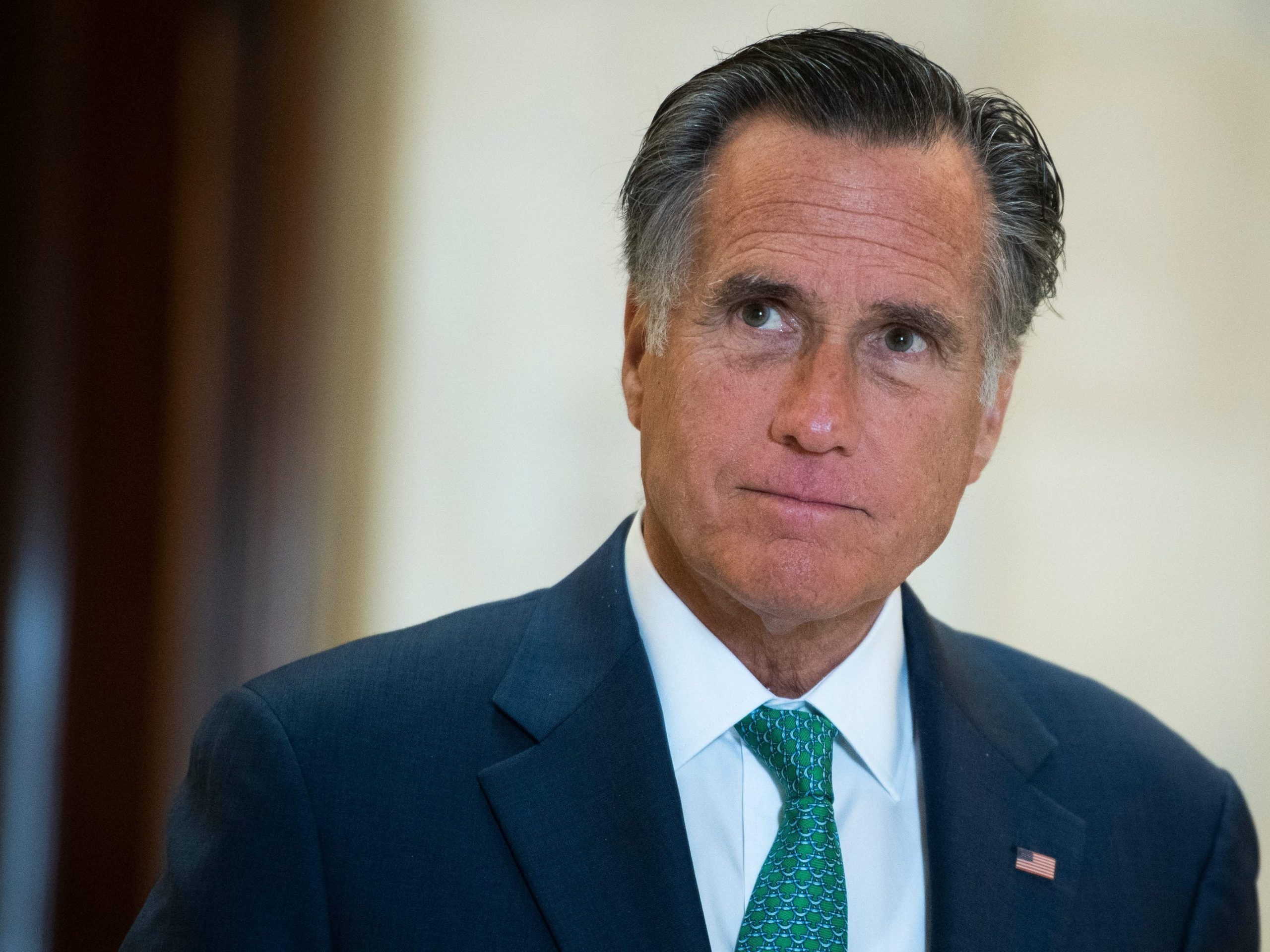 Mitt Romney and other GOP senators verbalize they'll oppose an effort by their colleagues to instruct the election outcomes