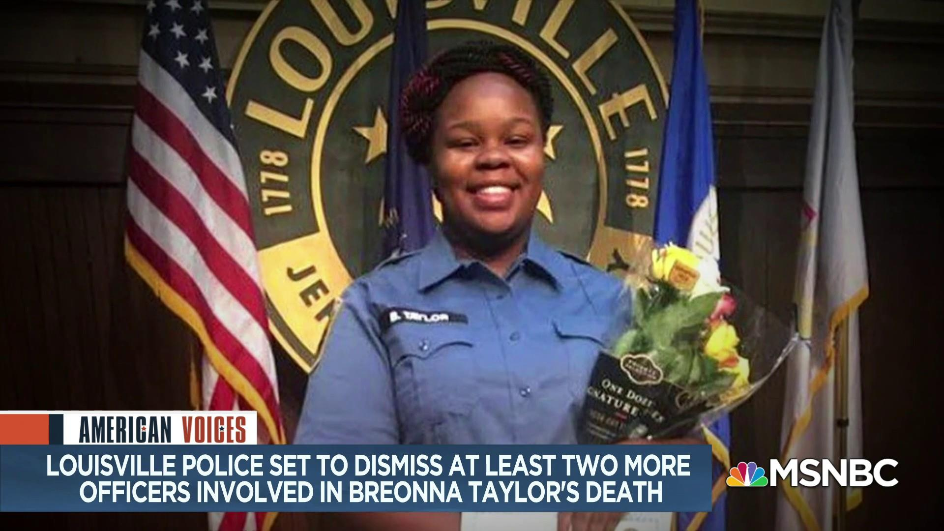Louisville police to fireplace two officers desirous about Breonna Taylor's dying