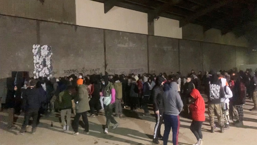 News24.com | WATCH | A whole bunch booked for Covid-19 violations as mass French NYE rave ends