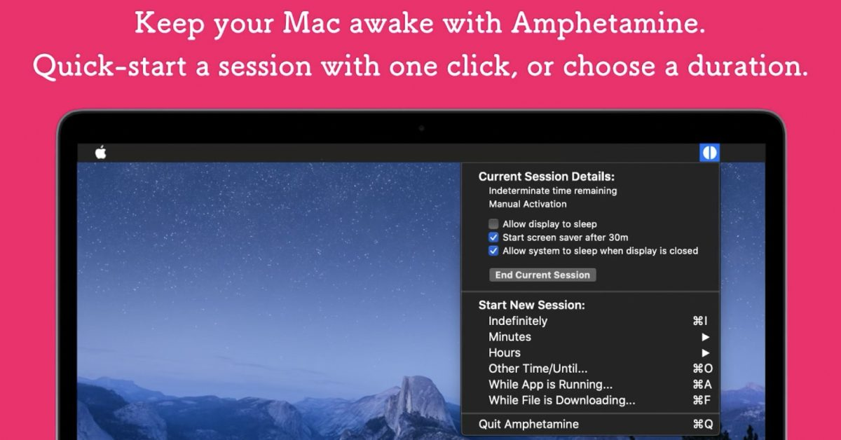 After threatening elimination, Apple says macOS utility Amphetamine can elevate on the App Store