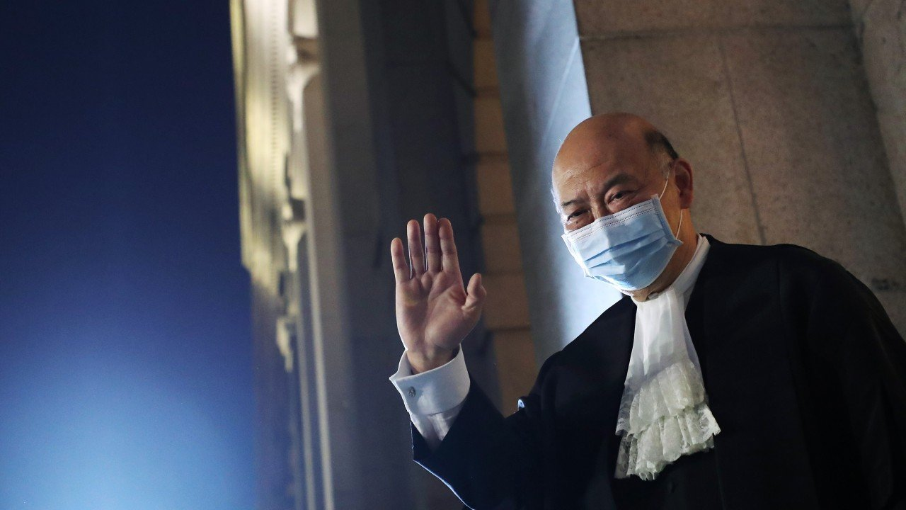 Hong Kong's departing chief justice provides one final defence of judicial independence at farewell sitting