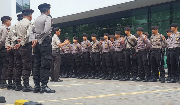 Ecstatic Indonesian Police Officer's Unfair Dismissal Lawsuit Thrown Out